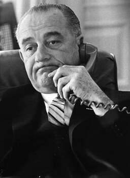 Lyndon B. Johnson Photo: YOICHI R. OKAMOTO, AP