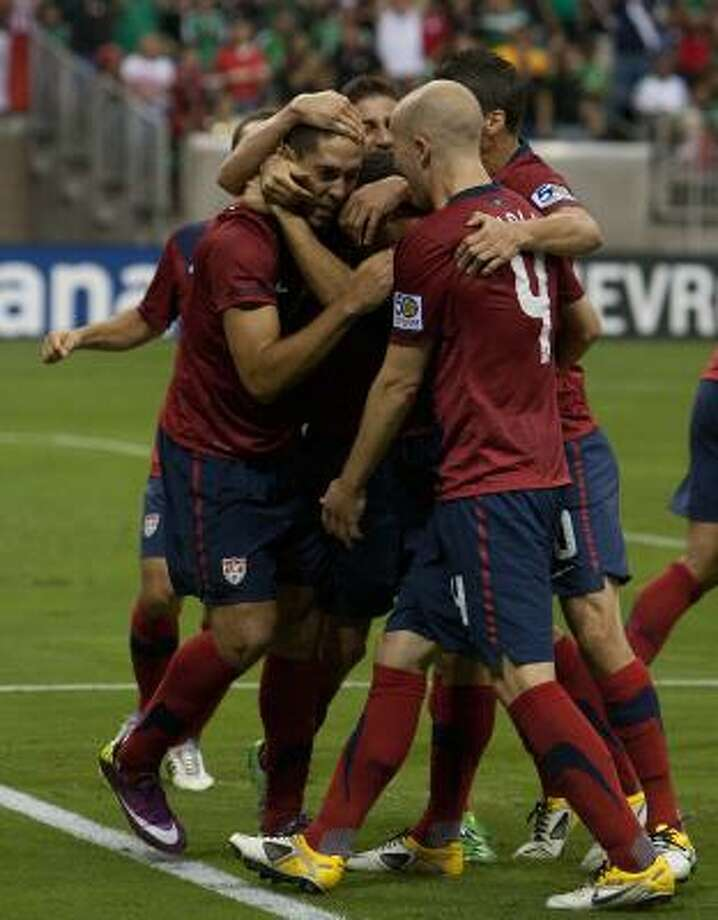 No. 5U.S. 1, Panama 0June 22, 2011, Reliant Stadium.Nacogdoches  native Clint Dempsey, who was with Fulham of the English Premier League  at the time, scored the winning goal in the 76th minute to propel the  U.S. to the Gold Cup final. Photo: Cody Duty, Chronicle
