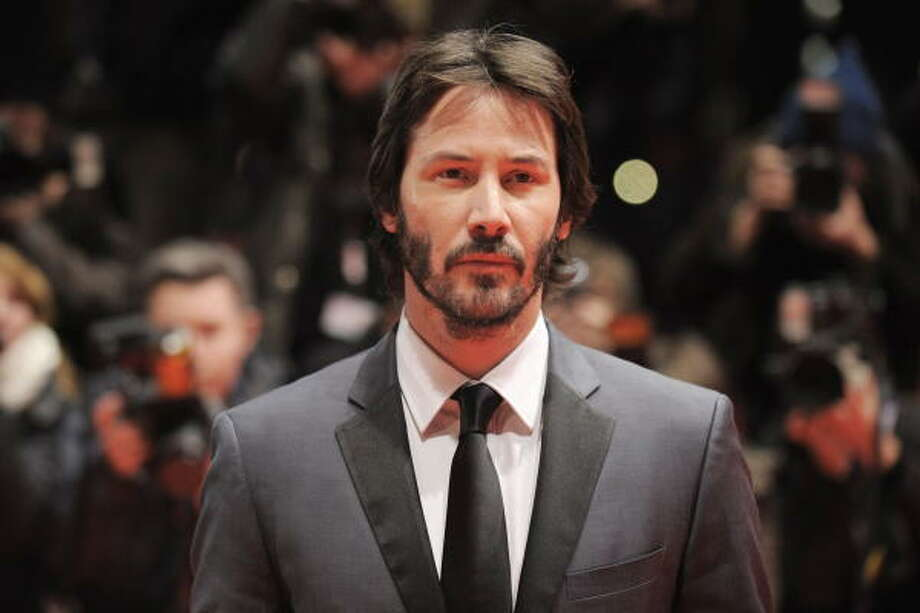 Keanu Reeves Beirut, Lebanon Photo: AXEL SCHMIDT, AFP/Getty Images