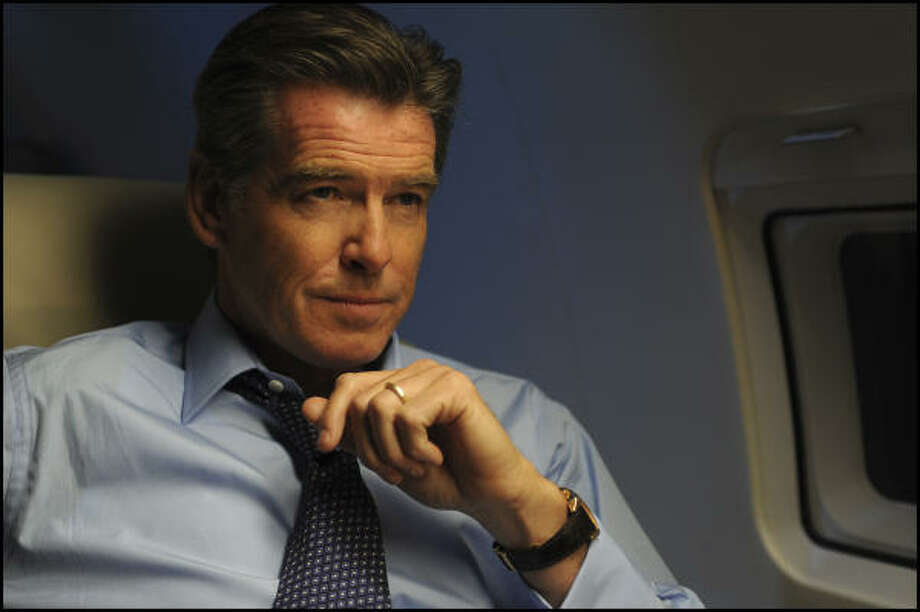 Pierce Brosnan Can Eat Fire