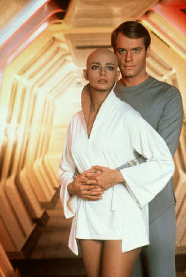Persis Khambatta shaved her head for her role in the movie Star Trek: The Motion Picture. Photo: Paramount Pictures