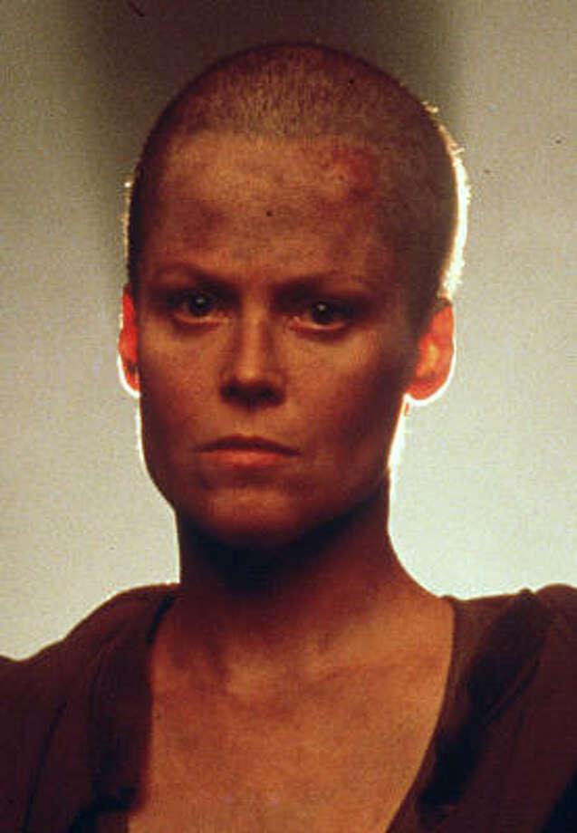 Sigourney Weaveras Ellen Ripley in Alien 3. Photo: Anonymous, ASSOCIATED PRESS