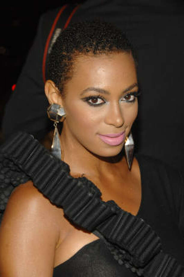 Solange Knowles rocked the short cut in 2009. Photo: Peter Kramer, AP