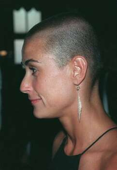 Demi Moore shaved her head for the movie GI Jane.