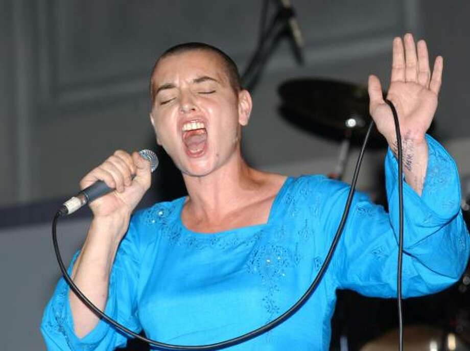 Sinead O'Connor knew her hair choice would become a trend sooner or later. Photo: COLLIN REID, AP