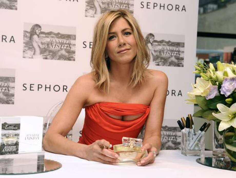 Jennifer Aniston Real name: Jennifer Linn Anastassakis Photo: Peter Kramer, Associated Press