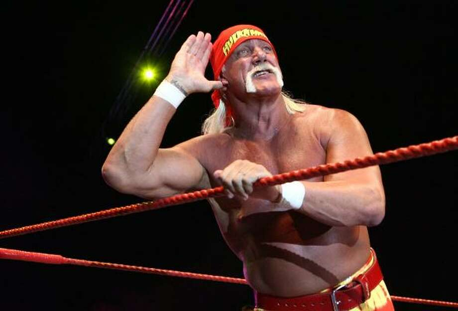 Hulk Hogan Real name: Terry Jean Bollea Photo: Paul Kane, Getty Images