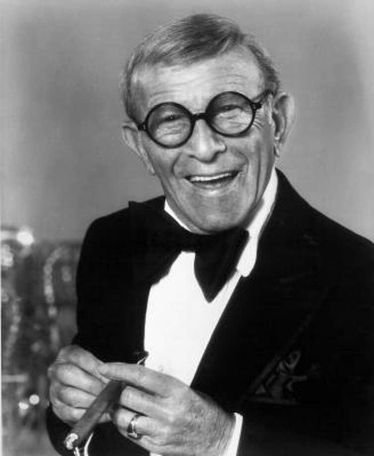 "George Burns played God in his film ""Oh God!"" in 1977 and also played the devil in ""Oh God! You Devil"" in 1984.  Photo: HANDOUT, KRT"