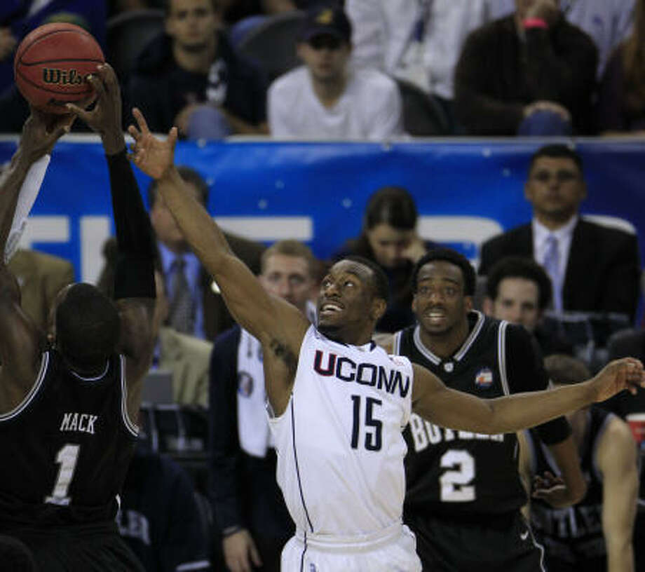 Kemba WalkerSize: 6-1, 184Age: 21School: ConnecticutCarried UConn to a national championship with his terrific scoring ability, speed and quickness. An aggressive player who shines in big moments. Size is a concern. Photo: Brett Coomer, Chronicle