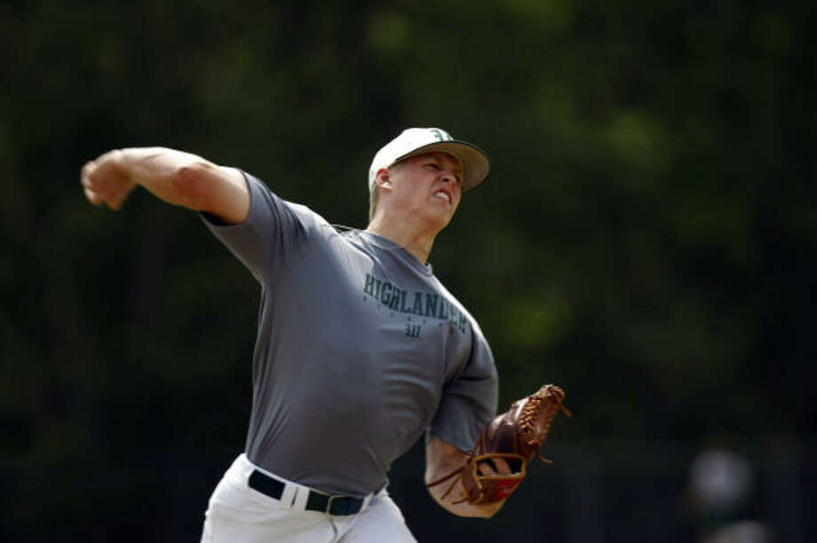 Bryan BrickhousePitcher, Senior, The WoodlandsThe third-round pick of the Kansas City Royals dazzled on the mound, going 8-3 with a 1.13 ERA. He also struck out 142 batters in 80.1 innings. Photo: Johnny Hanson, Chronicle