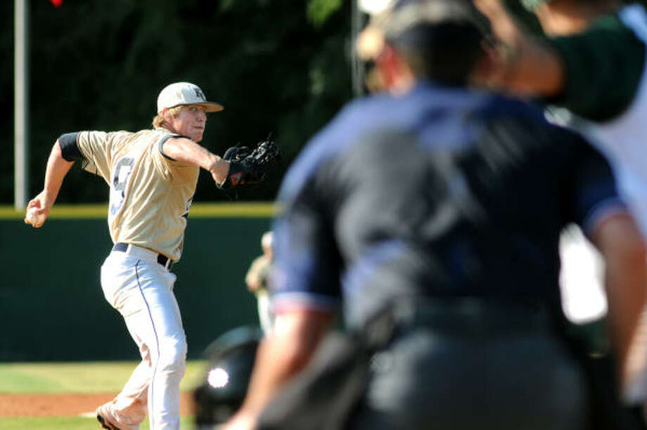Cory GeislerPitcher, Junior, Klein CollinsGeisler was the District 13-5A MVP this season, posting a 0.86 ERA with 85 strikeouts en route to a 9-1 record. He also shined at the plate, with five homers and 32 RBIs. Photo: Jerry Baker, For The Chronicle