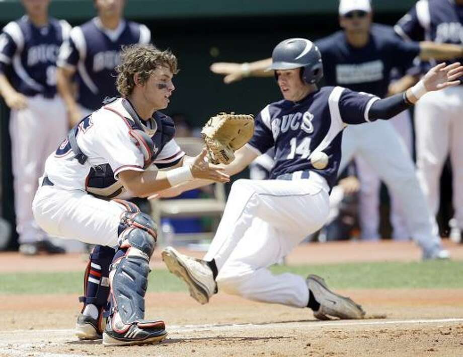 Cole LankfordCatcher, Senior, LamarThe Texas A&M signee hit .435 with seven homers, 48 RBIs and 43 runs scored to propel the Redskins to the Class 5A regional semifinals. Photo: Bob Levey, For The Chronicle