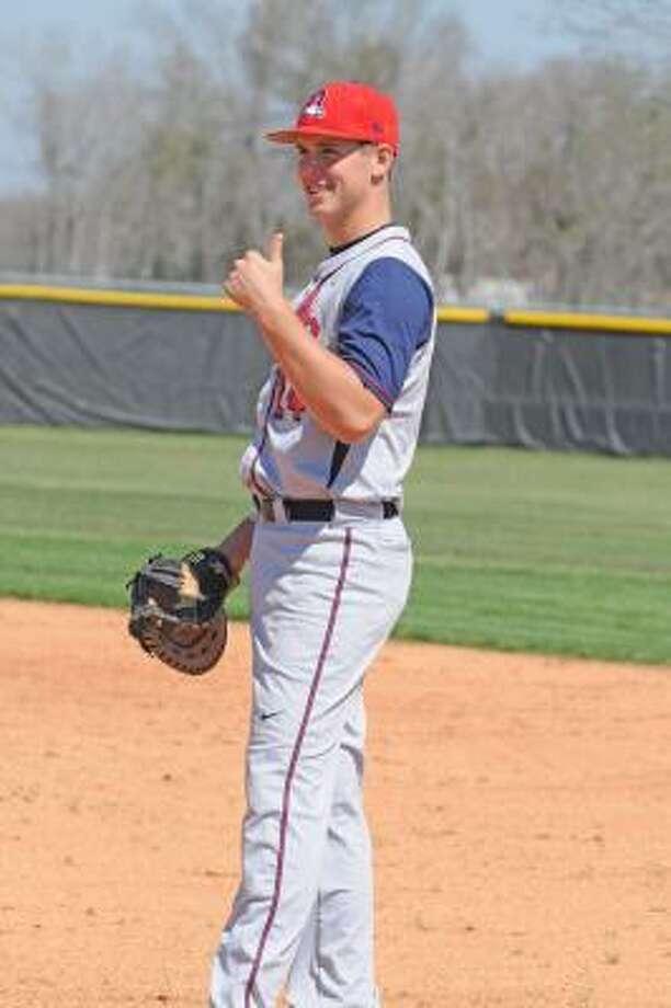 Travis Duke Pitcher, Junior, Dawson Photo: L. Scott Hainline, For The Chronicle