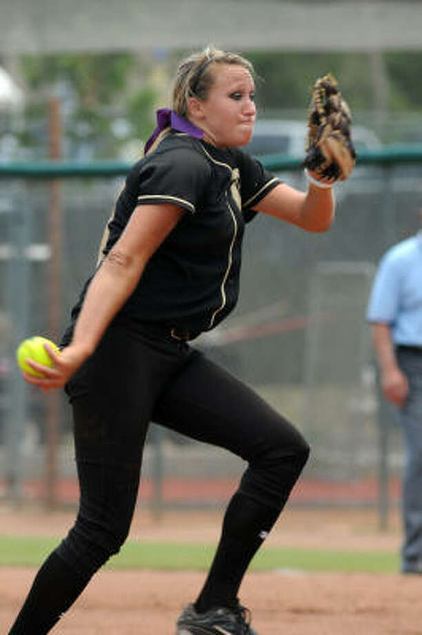 Kaylee GarnerPitcher, Sophomore, DanburyThe sophomore, who had 232 strikeouts this year, was named the 2A state tournament MVP after fanning 27 batters in two games en route to the title. Photo: Jerry Baker, For The Chronicle