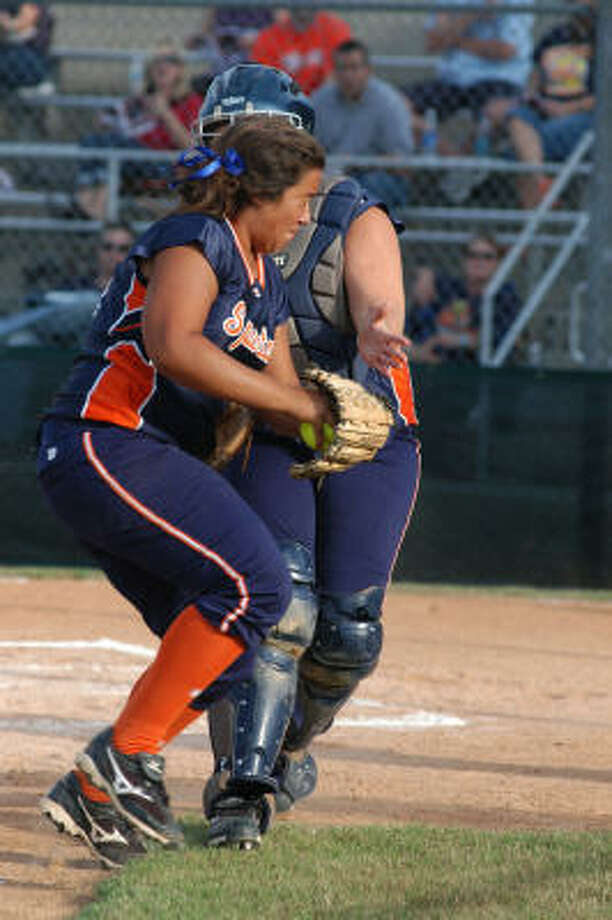 Paige OrtizInfielder, Senior, Seven LakesOrtiz, who will play college ball at Fordham, helped lead the Spartans to a 24-12 record thanks to her .577 batting average and her outstanding glove work at third base. Photo: L. Scott Hainline, For The Chronicle