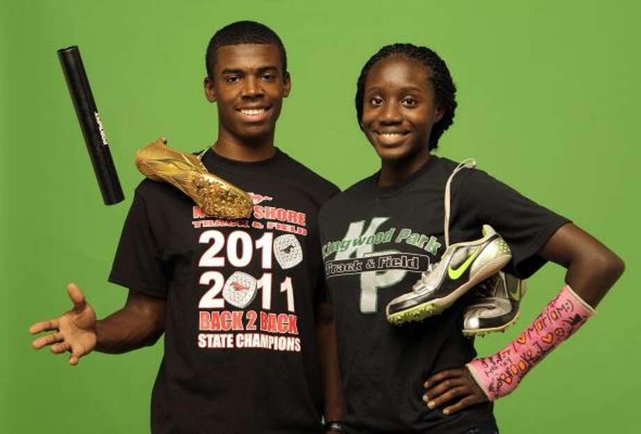 Girls track and field MVP