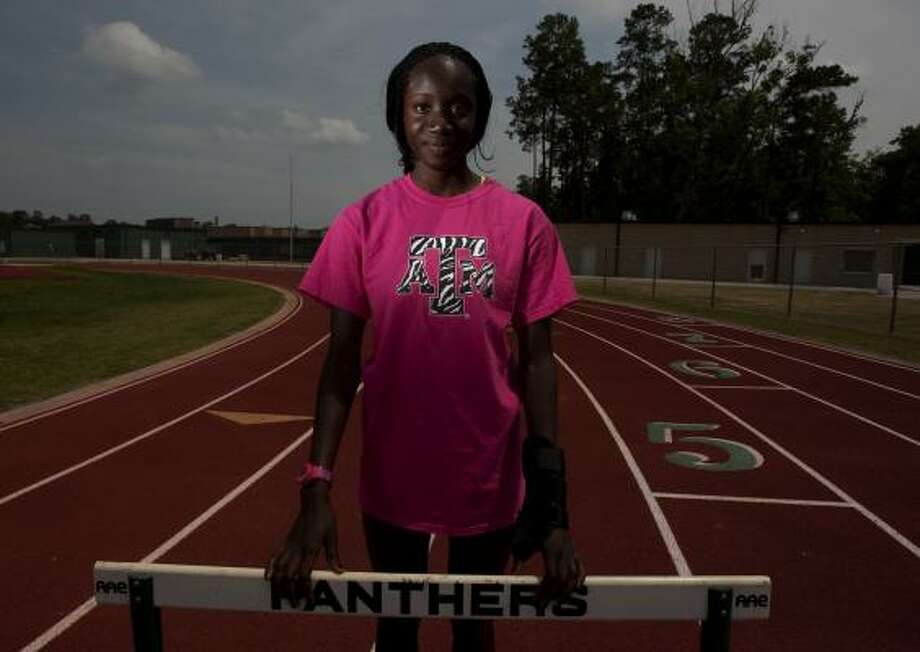 Girls track and field MVP: Mariam Amadu, Kingwood ParkAmadu is no stranger to success on the track. The senior won gold medals in the 300-meter hurdles at the state meet as a sophomore and junior. As this year's state favorite, Amadu fell and broke her wrist during regionals. She still competed in and won the 300 hurdles that same day. A few days later, she had her cast removed to run at state and won her third consecutive crown. Photo: Johnny Hanson, Chronicle