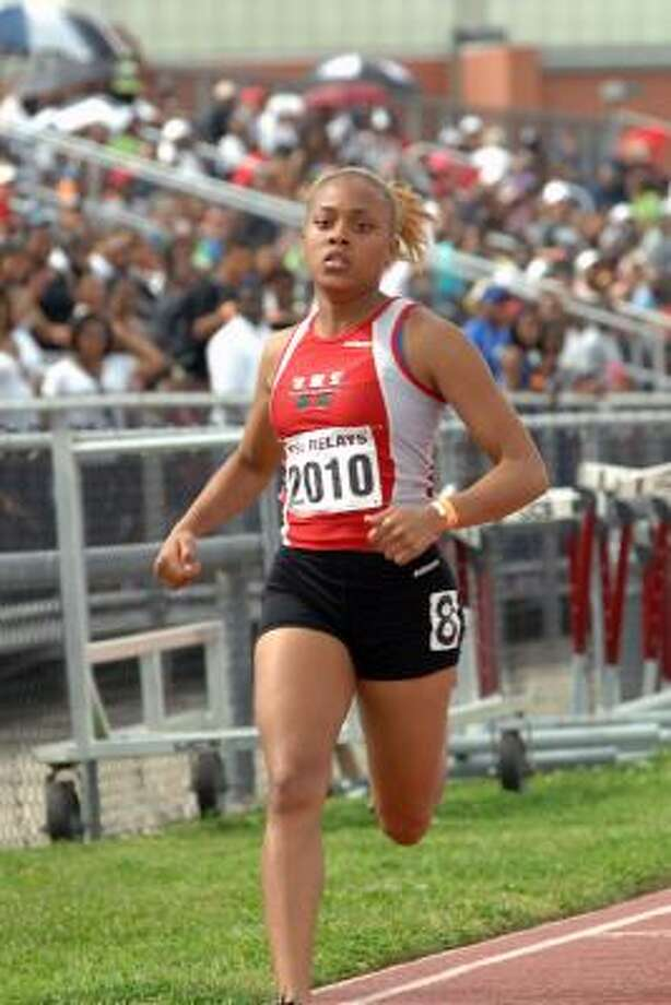 Girls sprinters: India Daniels, WestfieldDaniels captured the gold medal in the 100 meters at this year's state meet. Photo: Eddy Matchette, For The Chronicle