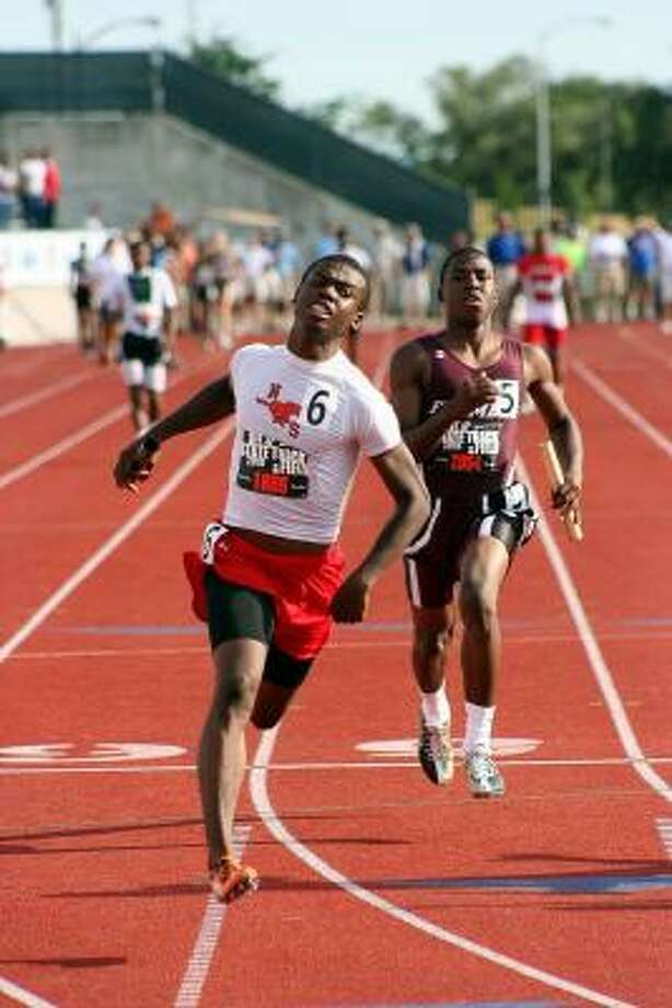 Boys sprinters: Jaylon Hicks, North Shore In winning the state title in the Class 5A 100-meter dash, Hicks, left, tied a national record with a clocking of 10.15 seconds. He also led his relay teams to victories. Photo: Gerald James, For The Chronicle