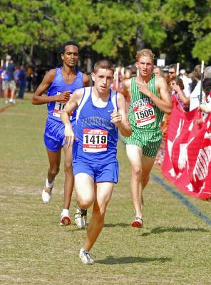Boys distance: Will Antkowiak, BrenhamThe Texas-bound senior, right, won the 4A state 1600-meter title for the second straight season. Photo: Tony Bullard, For The Chronicle