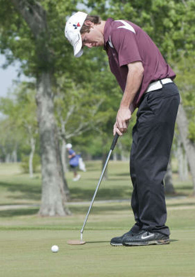 Travis Dennis, senior, Clear Creek