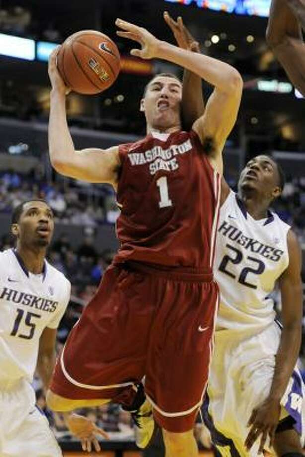 "Klay Thompson, SG/SF, 6-6, Washington State ""Skilled big wing, strong shooting ability. Average athleticism."" Photo: Chris Pizzello, Associated Press"