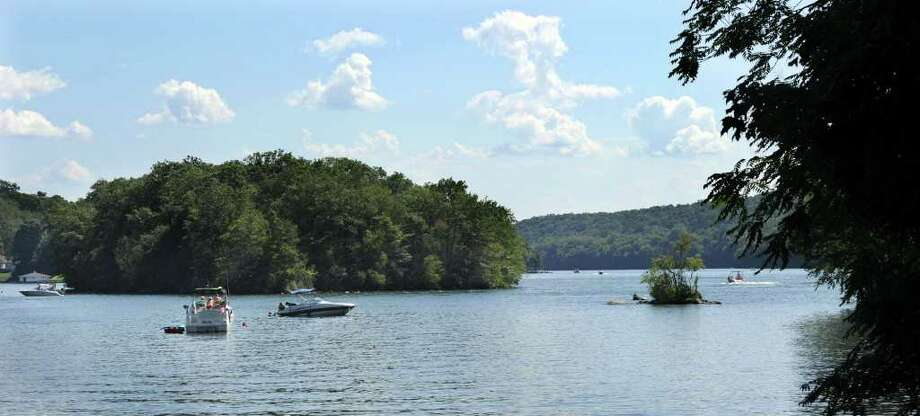 A 19-year-old Norwalk man, Alan Nunez, lost his life in a drowning incident in the Dike Point area of Candlewood Lake in New Milford Tuesday evening. According to an employee of First Light, which owns the lake, the man drowned behind the island pictured above. Photo taken Wednesday, August 17, 2011. Photo: Carol Kaliff / The News-Times