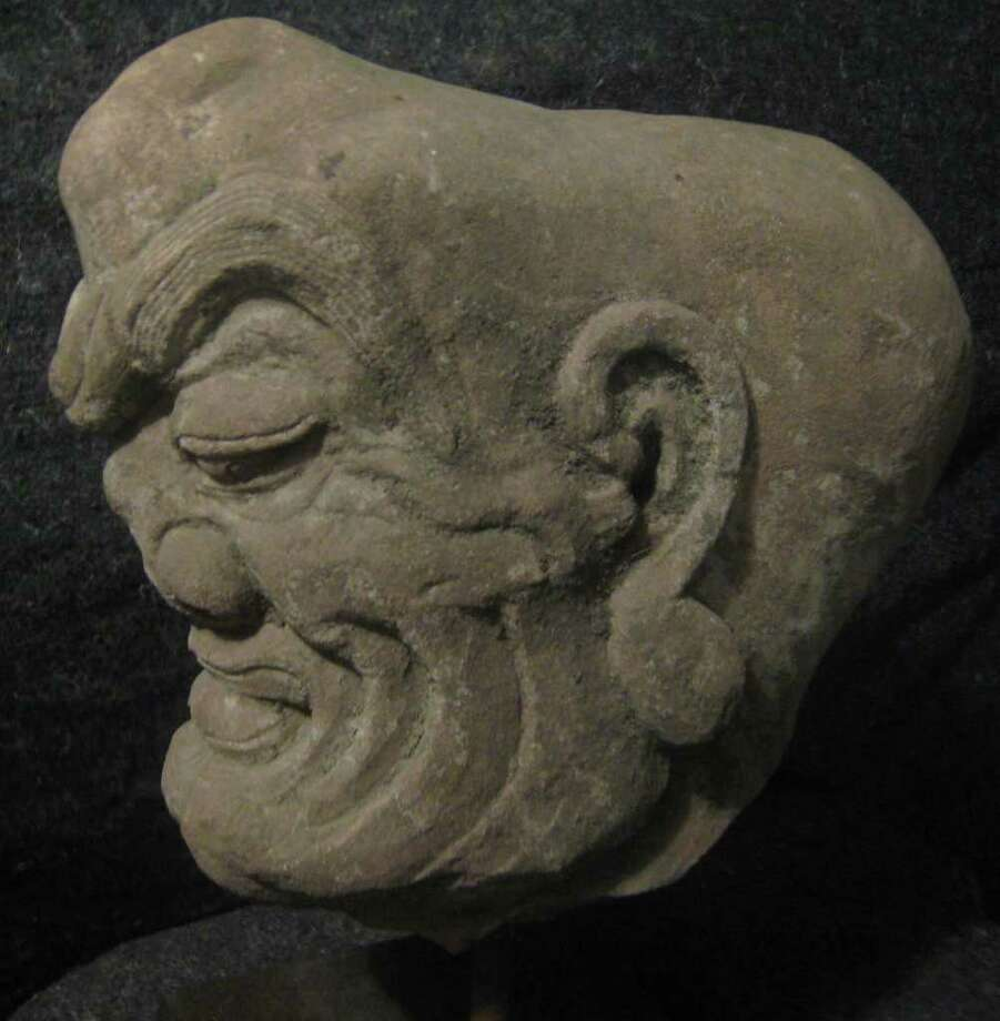 Ancient stone chinese sculptures each worth