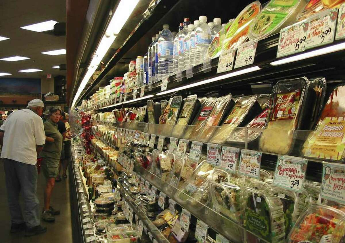 The Trader Joe's grocery store in Santa Fe, New Mexico, attracts out of town shoppers.