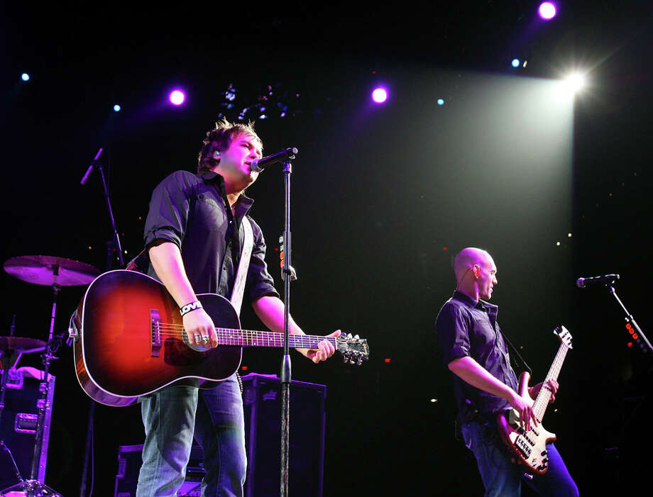 """Mike Eli (left) and Jon Jones of the Eli Young Band will celebrate the release of """"Life at Best"""" Thursday at Cowboy's Dancehall. EXPRESS-NEWS FILE PHOTO"""