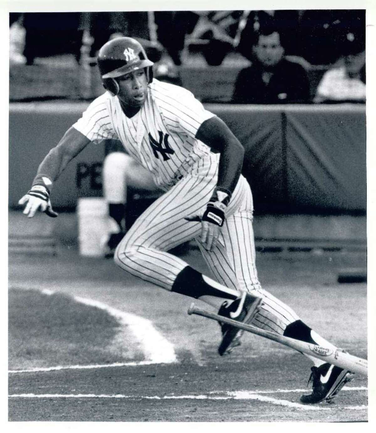 Click through the slideshow to learn about more famous athletes with Capital Region ties.    Played here: Bernie Williams. Yankee center fielder played 225 for the Albany-Colonie Yankees, including the entire 1990 season.