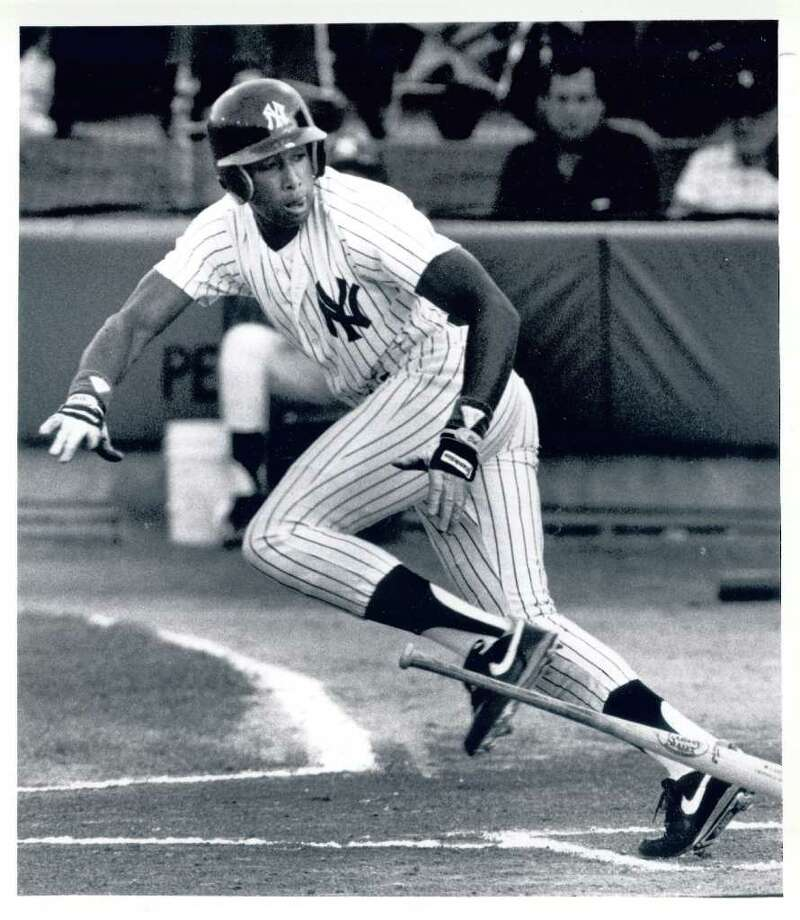 Click through the slideshow to learn about more famous athletes with Capital Region ties. Played here: Bernie Williams. Yankee center fielder played 225 for the Albany-Colonie Yankees, including the entire 1990 season. Photo: Justin Veldhuis