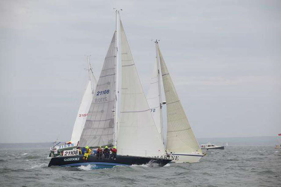 The Gadzooks boat competes in the Marion-Bermuda race. Photo: Contributed Photo