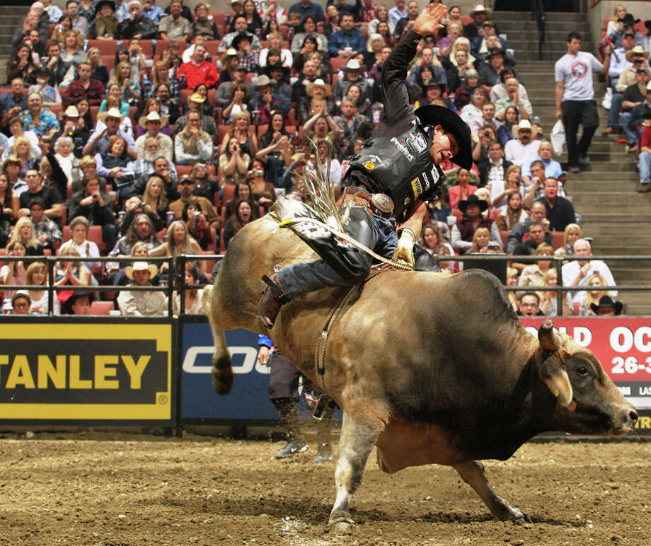 Professional Bull Rider Robson Palermo is at No. 4 in the world, but will have to miss the San Antonio show this weekend. COURTESY PBR