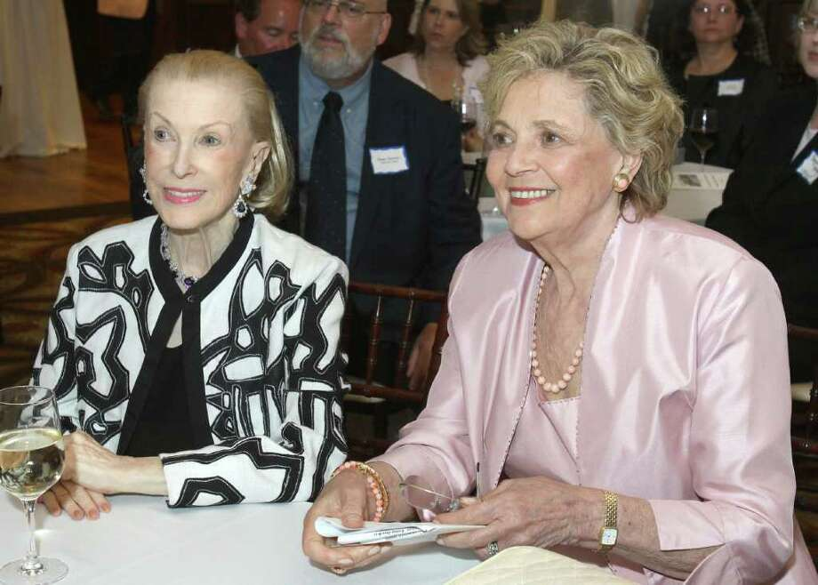 Saratoga Springs, NY - August 15, 2011 - (Photo by Joe Putrock/Special to the Times Union) - Honorary Event Co-Chairs Matilda Raffa Cuomo(right), Former First Lady of New York State and Marylou Whitney(left), First Lady of Saratoga during An August Evening in Saratoga, a benefit for the Mental Health Foundation. Photo: Joe Putrock / Joe Putrock