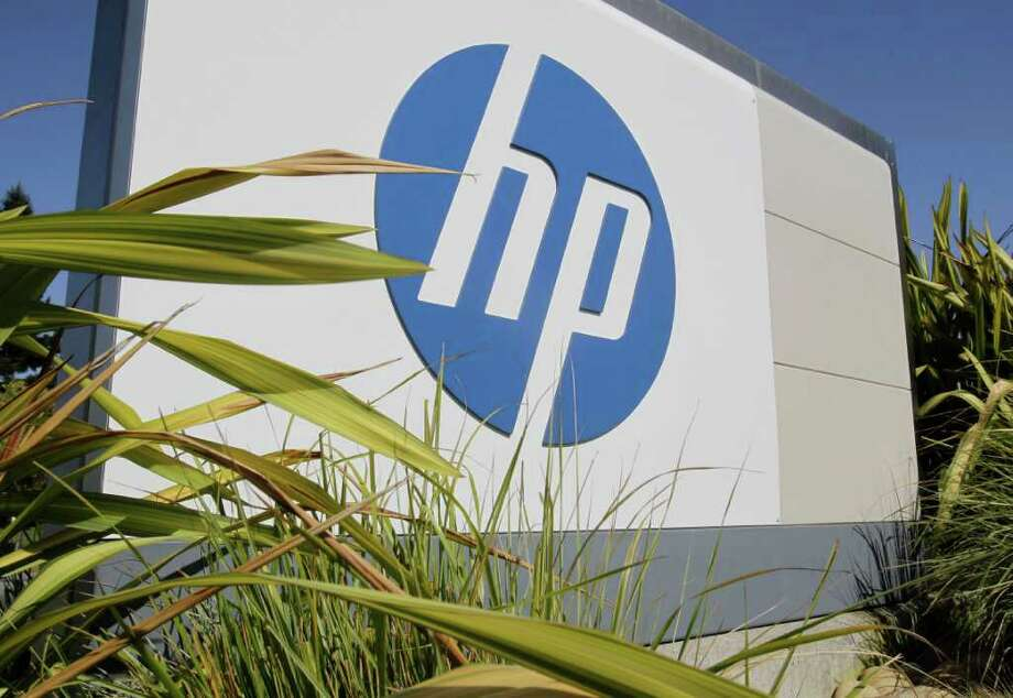 FILE - In this Sept. 30, 2010 file photo, the Hewlett Packard Co. logo is displayed at headquarters in Palo Alto, Calif. Hewlett Packard Co. reports quarterly financial results Thursday, Aug., 18, 2011, after the market close. (AP Photo/Paul Sakuma, File) Photo: Paul Sakuma