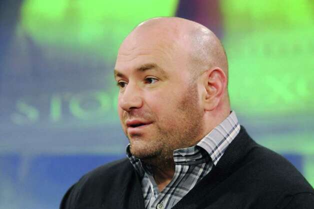 Dana White, president of Ultimate Fighting Championship (UFC), stands for a portrait after a Bloomberg Television interview in New York,  U.S., on Thursday, March 17, 2011. The UFC operates and promotes mixed martial arts athletic clubs and events. Photographer: Jonathan Fickies/Bloomberg *** Local Captiono *** Dana White Photo: Jonathan Fickies / © 2011 Bloomberg Finance LP
