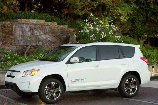 2012 Toyota RAV4 EV. Photo: Toyota Motor Sales U.S.A., COURTESY PHOTO / courtesy of Toyota Motor Sales U.S.A.