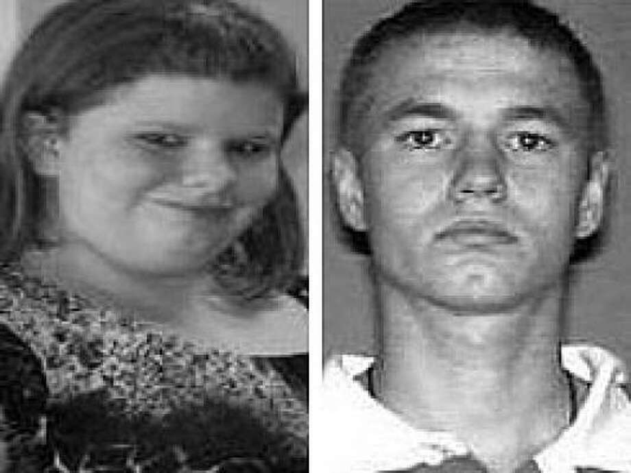 Andrea Love Fox, 14, and James Dean Martin, 21, may be driving a blue Chevrolet Aveo with buyer tags. Photo: League City Police