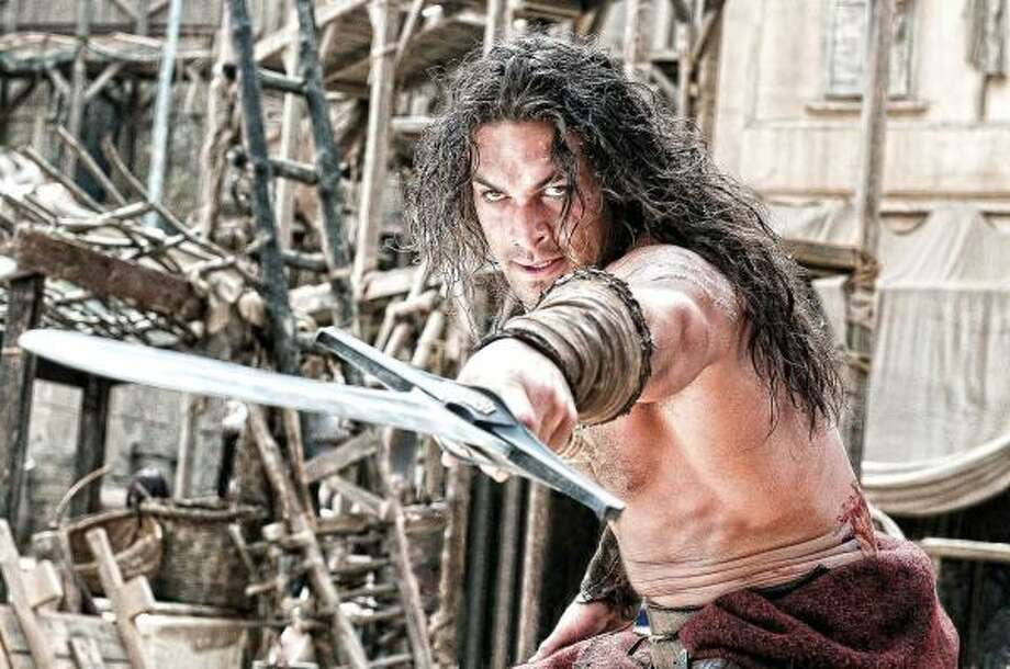 Jason Momoa stars as the titular character in Conan the Barbarian. Photo: Lionsgate Films