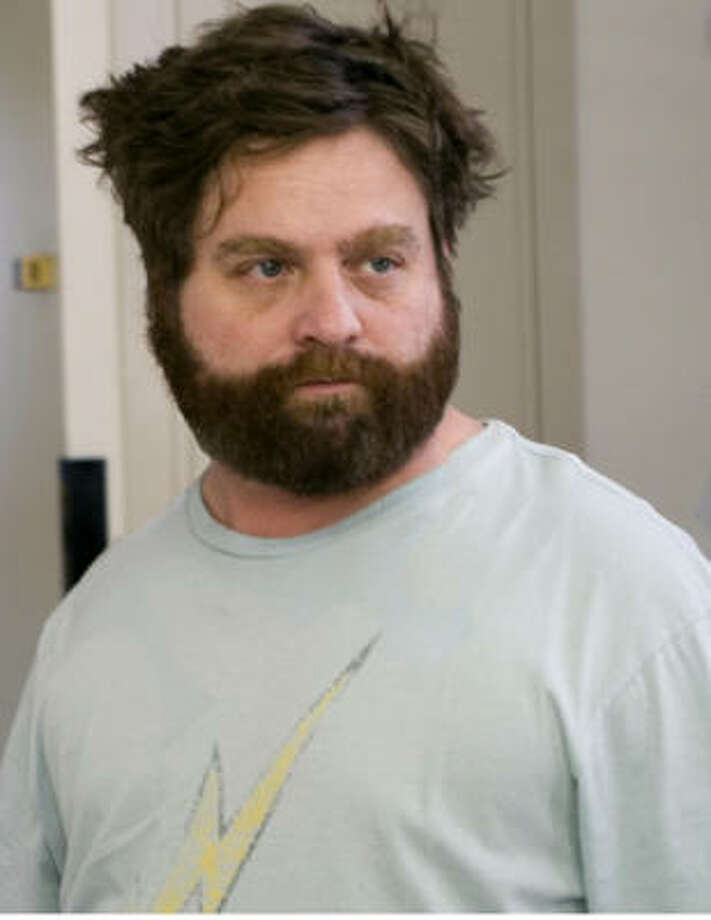 Zach Galifianakis might make the perfect Ignatius J. Reilly if a film ever is made of John Kennedy Toole's A Confederacy of Dunces. Photo: K.C. Bailey
