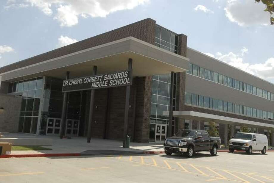 OPENING SOON: Cypress Fairbanks Independent School District opens Salyards Middle School in the Fairfield area this school year. Photo: Tony Bullard, For The Chronicle