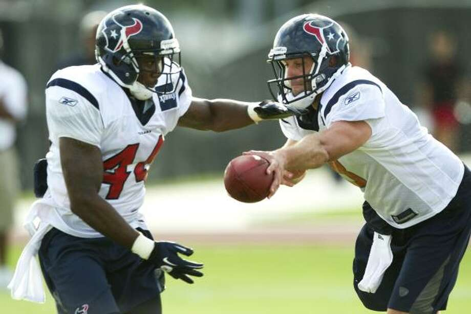 Texans running back Ben Tate expects to play in the upcoming preseason game. Photo: Brett Coomer, Chronicle