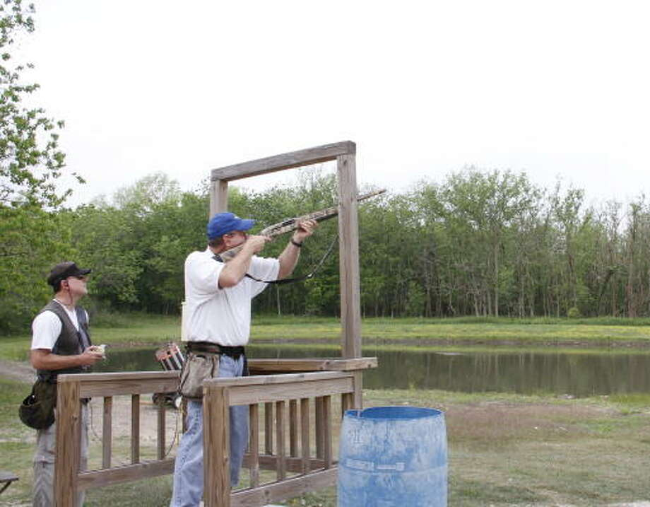 Wingshooting is a skill learned and maintained through repeated practice that builds muscle memory and hand-eye coordination Photo: Shannon Tompkins