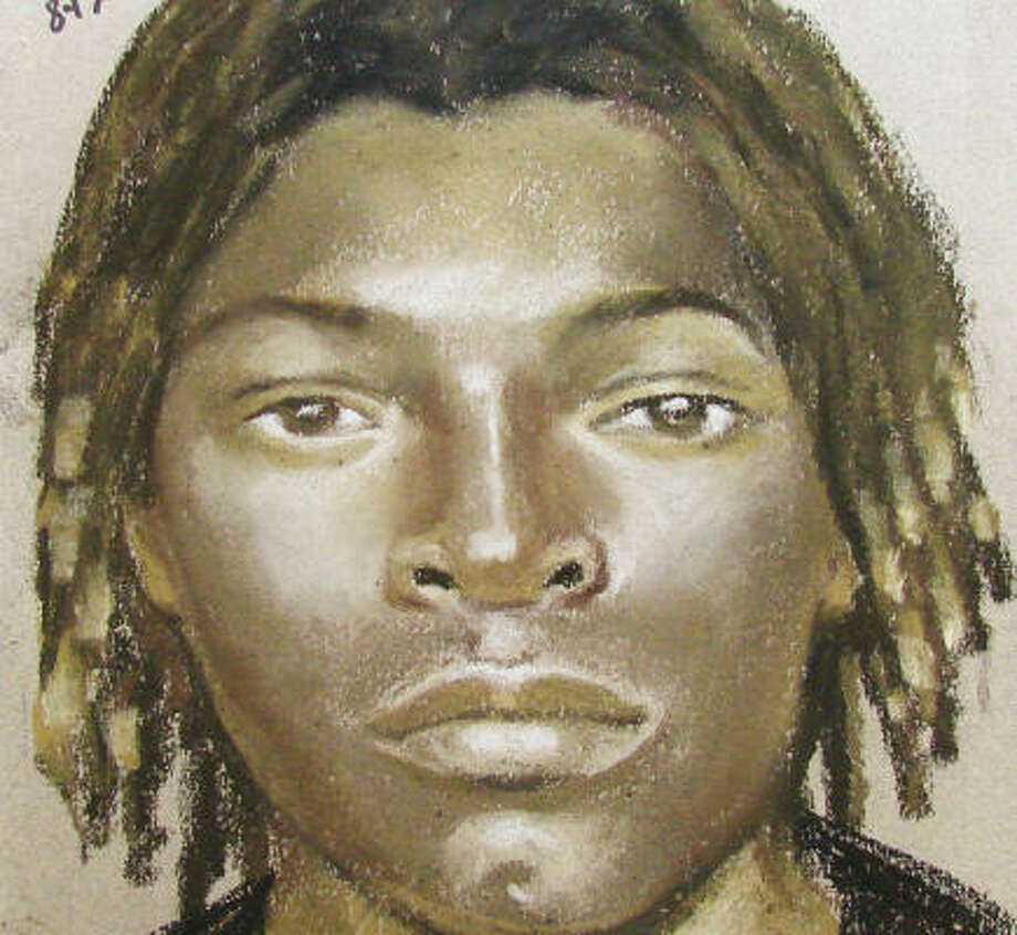 HPD has released this sketch in the case. Photo: Houston Police Department