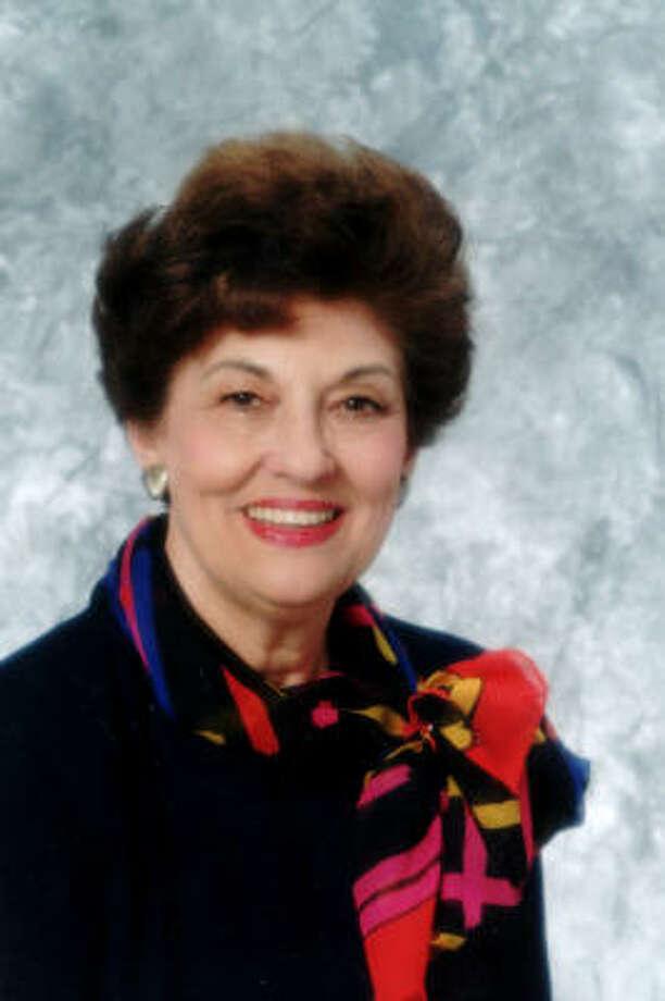 Former Houston City Councilwoman Jean Kelley Photo: Family Photo