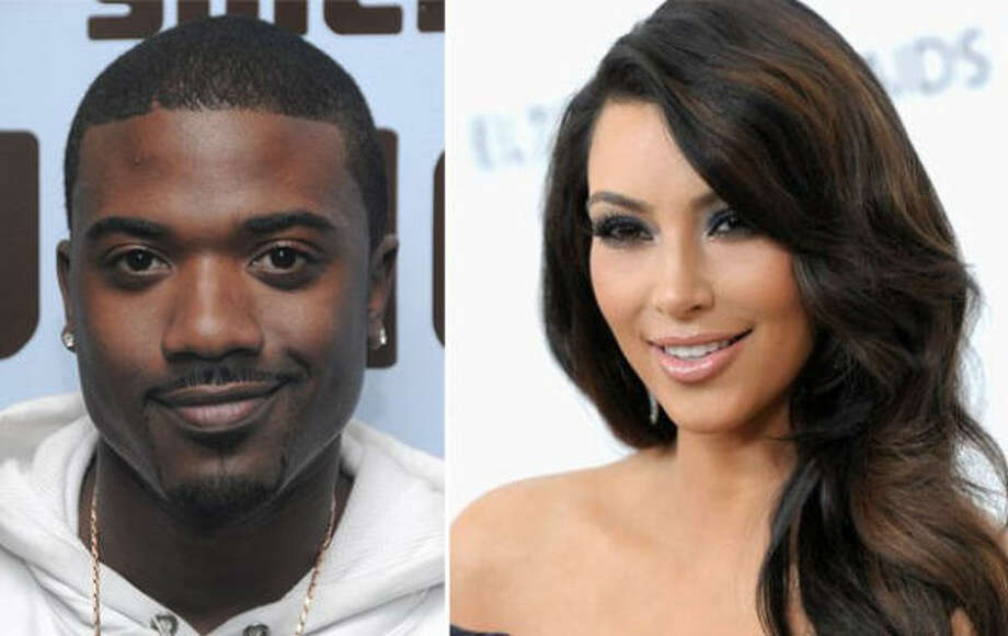1. The sex tape: When a tape was leaked showing Kim in compromising positions with then-boyfriend Ray J, her career (and notoriety) got a bit of a boost. Ray J's however, did not. Photo: Getty Images