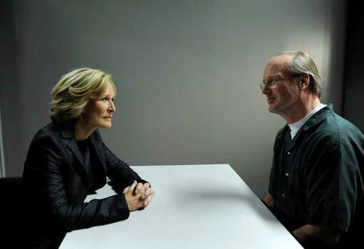 "In this image released by FX, Glenn Close, left, and William Hurt are shown in a scene from the series, ""Damages."" The program was nominated for an Emmy award for best drama series, Thursday, July 16, 2009. Close was also nominated for best actress and Hurt for best supporting actor in a drama series. The 61st Primetime Emmy Awards are scheduled to air live Sept. 20 from the Nokia Theatre in Los Angeles. Photo: Anonymous, AP Photo / AP2009"