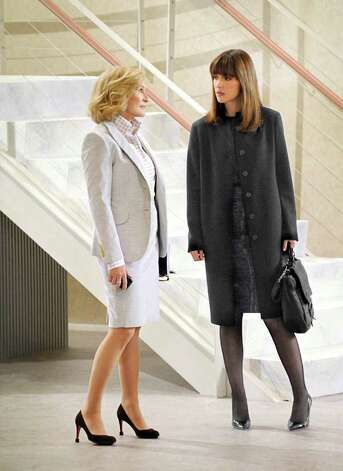 "In this TV publicity image released by DirecTV, Glenn Close, left, and Rose Byrne are shown in a scene from ""Damages."" Photo: DAVID M. RUSSELL, AP Photo / AP2011"
