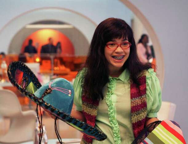 "This photo released by ABC shows actress America Ferrera as Betty in a scene from the ""East Side Story"" episode of ""Ugly Betty.""  Production of ABC's ""Ugly Betty"" is moving to New York. The announcement was made Monday, May 12, 2008, by Mayor Michael Bloomberg, Governor David Paterson and ABC Studios President Mark Pedowitz. They say the show will take advantage of a 35 percent tax credit from the city and state when it makes the move from Los Angeles. Photo: Dean Hendler, AP Photo / AP2007"